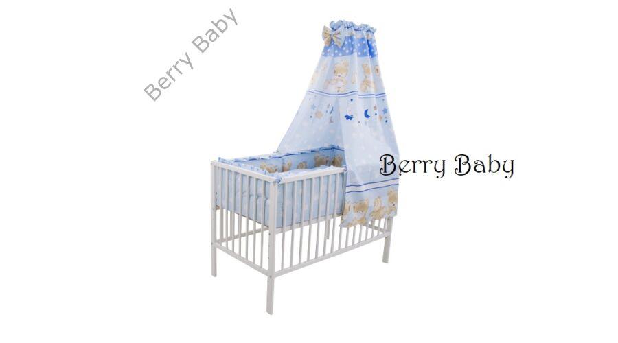A fotón körbe fejvédővel látható az ágynemű szett! AKCIÓS  Kék macis  babaágynemű szett (bővíthető) b92ecb5553