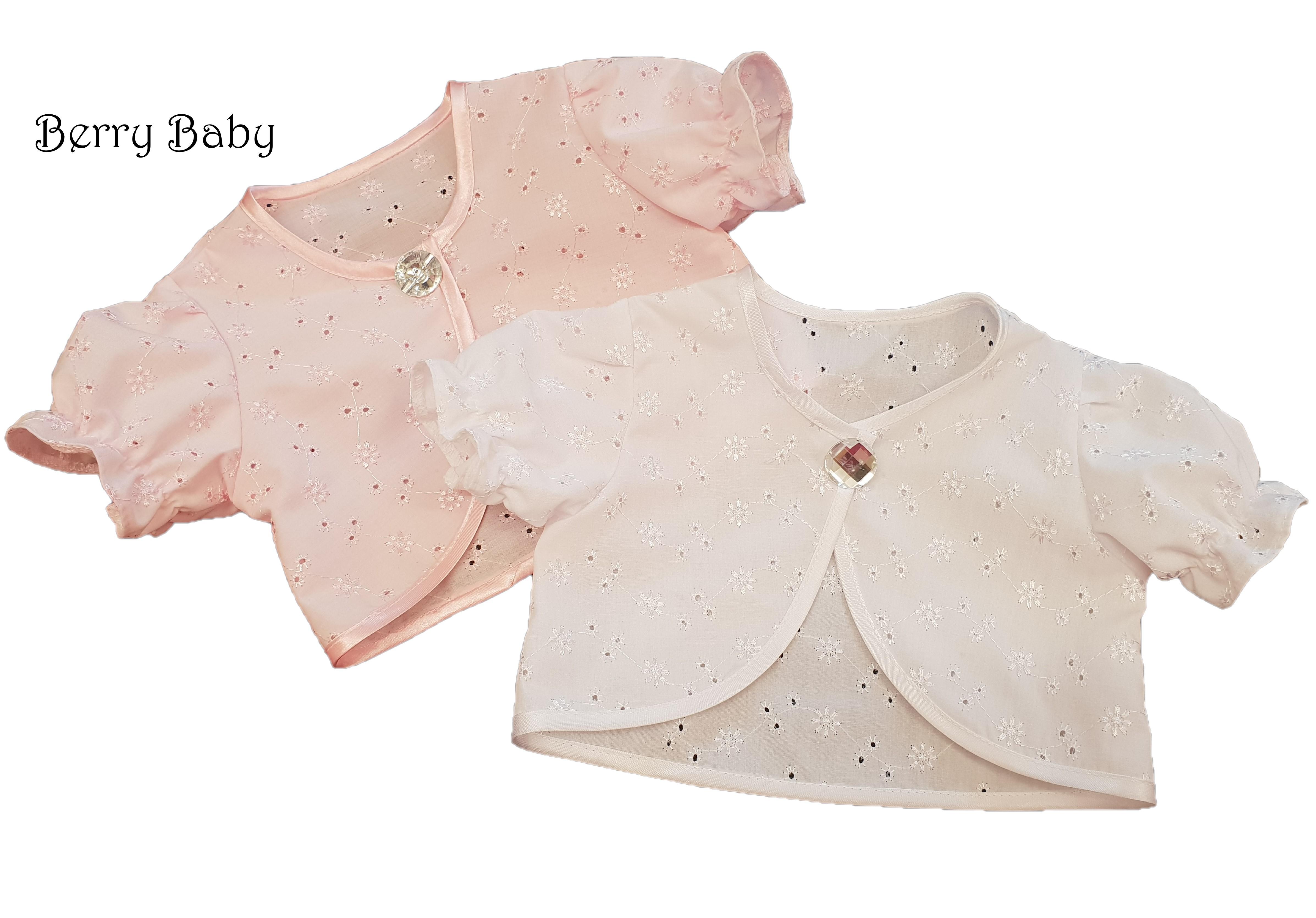 ee895b1266 Alkalmi/ keresztelő bolero: fehér 2-3 éves - Baba keresztelő ruhák és  kiegészítők- LÁNYKA