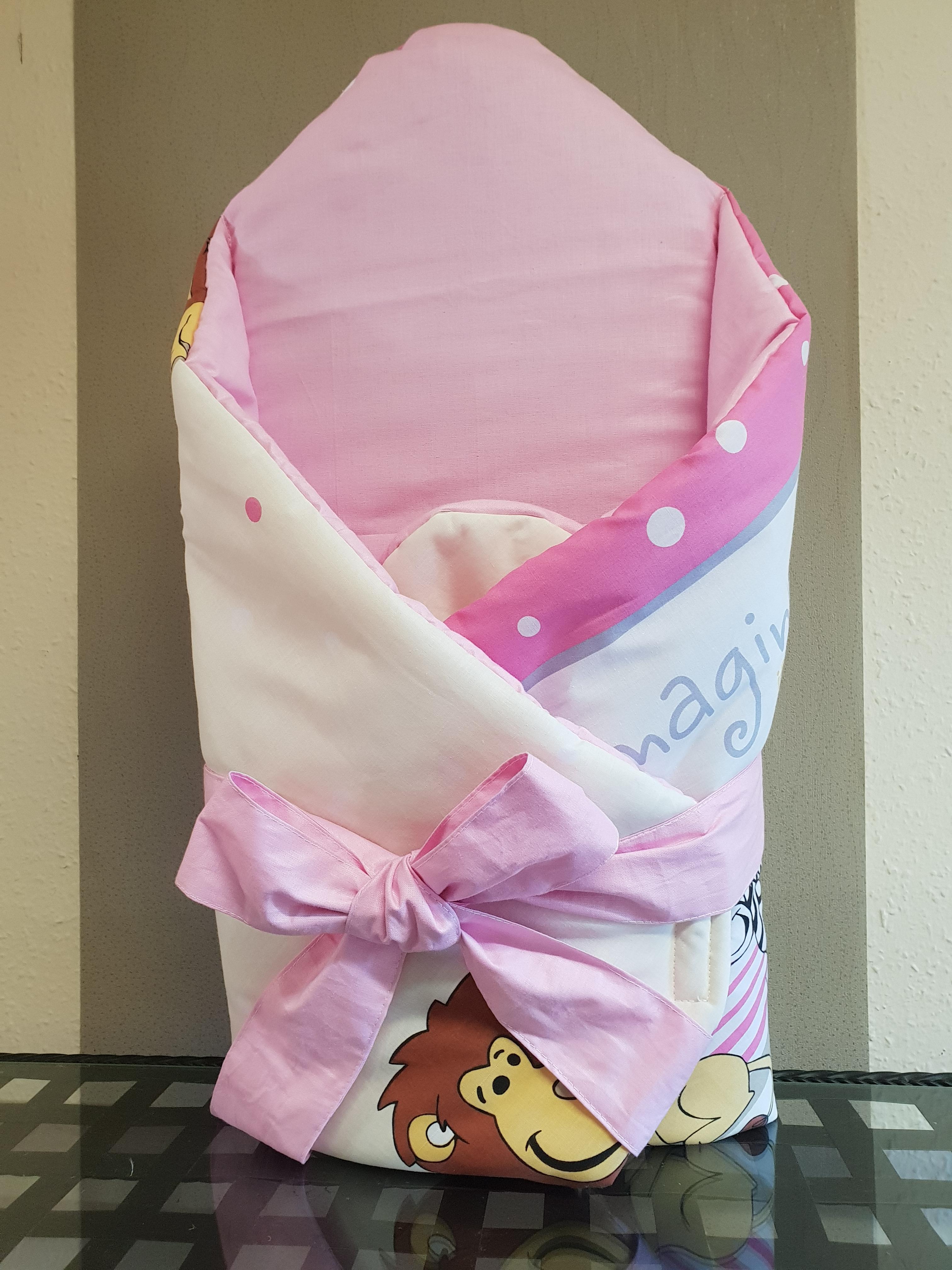 Kókusz pólya kivehető gerinctámasszal  Rózsaszín szafari - Kókusz pólya-  kivehető hátmerevítéssel 705994256f