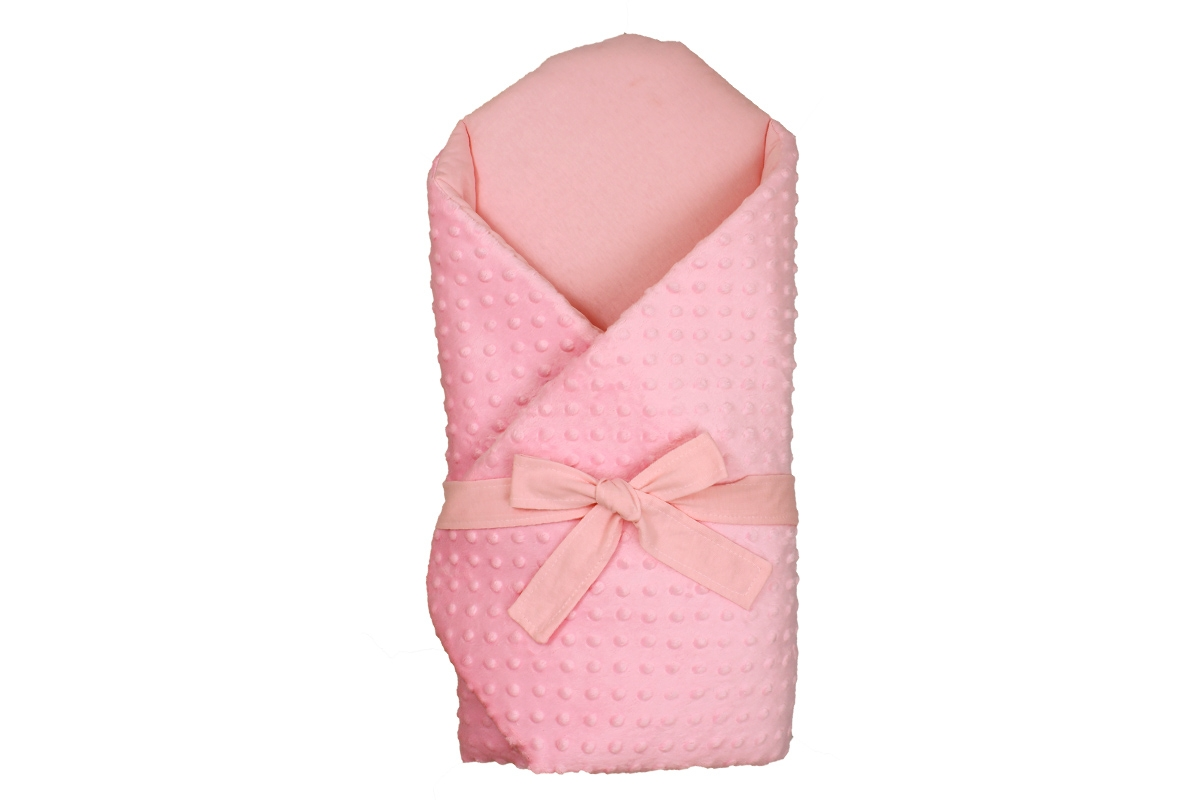 Kókusz pólya kivehető gerinctámasszal  selymes rózsaszín Minky- rózsaszín  belsővel - Kókusz pólya- kivehető hátmerevítéssel 2f54b463de