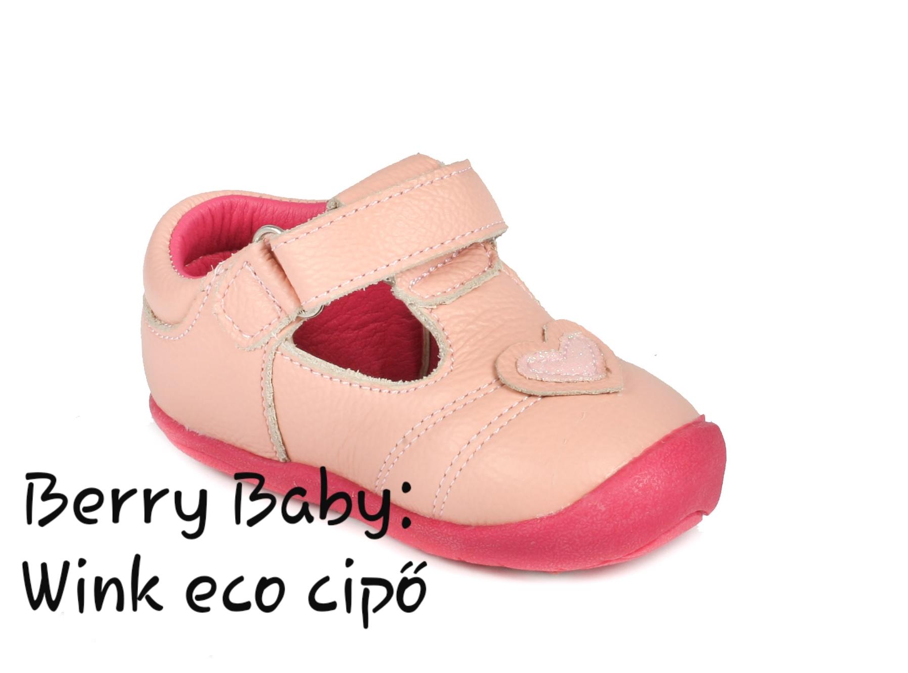 bbed2438f35a Wink eco- első kiscipő és gyerekcipő- BARACK SZÍVES nyitott cipő: 17-es  méret - Baba cipő- puha és keménytalpú első kiscipő, kocsicipő- WINK eco